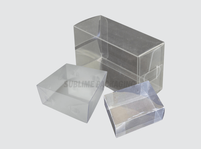 Clear Soap Boxes
