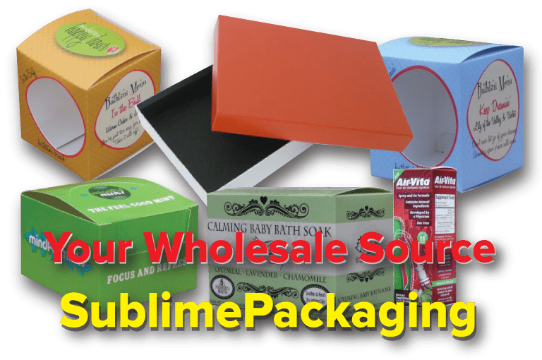Sublime Packaging the wholesale custom boxes manufacturer